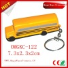 PU Stress School Bus Key Chain