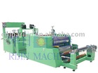 Automatic PVC sheet cutting and flating machine
