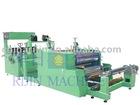 Automatic PVC sheet cutting and flating machine