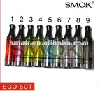 Ego SCT Smoktech best selling Ego thread colorful Single coil Tank