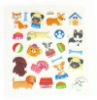 mobile phone sticker; pvc sticker; fashion cartoon sticker