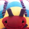 plush worm, animal pillow for promotion gifts