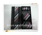100% polyester necktie gift box set