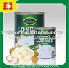 fresh canned longan syrup