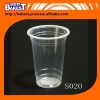 New Design PP tansparent smoothie juice cup, milk tea cup class