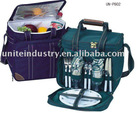 2person Picnic bag with cooler inner in low price
