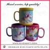 2011 fashion lovely design OEM soft pvc mug for giveaway gifts
