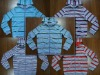 kid's hoody with stripe printing