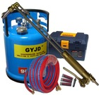 Fuel-efficient user-friendly innovative Oxy-gasoline Steel Cutting Machine VS acetylene cutting torch