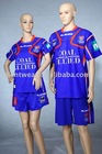 men/women heat transfer football t-shirt