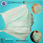 3 ply Nonwoven tie on Face Mask