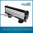 216w high performance Cree led light bar,automatic led bar lights 4x4,SM6031-216