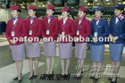 Elegant Airline Stewardess Uniform design Size and printing can be customized