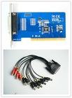 h.264 8ch video and audio cctv dvr card cctv camera equipment