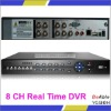 D1+CIF 8 Channel Realtime DVR,H.264 Stand Alone DVR