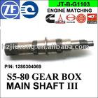 S5-80 GEARBOX MAIN SHAFT III