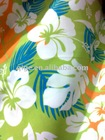 Printed peach skin fabric for bedding sheet