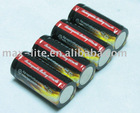 1300mAh High Capacity CR123A battery