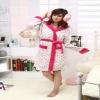women' coral fleece robe