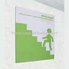 Backwall Slim Single Fabric Frame