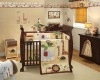 soft cotton luxury animals embroidery baby bedding set