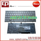 Hot Sale Laptop Keyboard for hp mini2133 RU Version Silver Notebook Keyboard Whoelsale