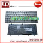 Hot Sale Laptop Keyboard for hp mini2133 RU Version Silver Notebook Keyboard Whoelsale