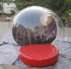inflatable globe for snowing