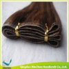 Cheap Piano Color Silky Straight Remy Human Cambodian Hair Skin Weft