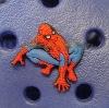 Spiderman shoe label