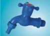 Plastic water faucet
