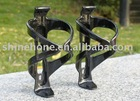 Black carbon bicycle water bottle cage 38g