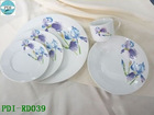 Round dinner set/Porcelain dinner set/ Porcelain Dinnerware/Dinner plate