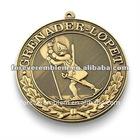 3D medal w/ribbon drape