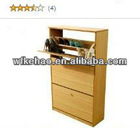 two-door melamine shoe cabinet up to 12 pairsof adults'
