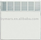 Electric convection panel heater convector