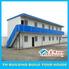 YH modern and economic flat roof prefab modular houses