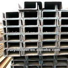 Hot rolled mild steel channel bar JIS standard SS400