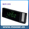 WOODEN LED Digital clock with calender and speaker