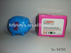 large Piggy bank saving bank big Coin bank/plastic piggy bank