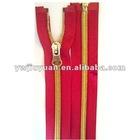 No.5 Gold Teeth Nylon Zipper,O/E