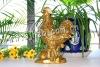 small brass statue