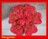 Poinsettia wool handmade peony with sequins