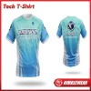 2012 Latest Nimblewear sportwear Recycle Material digital sublimation T-shirt/Polo shirt