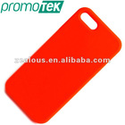 Red Color for iPhone 5 Cases in Soft Silicone Materials Low Price
