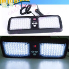 86 LED Super Bright Car Truck Visor Auto strobe light flash Panel White
