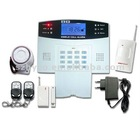 GSM SMS Voice Alarm System With LCD Screen
