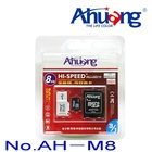 Micro sd card 2g/4g/8GB Ahuang TF memory card 3 in 1 set