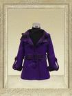 61609- girls beautiful fashion girls coats elegant classic hooded long winter coats for kids