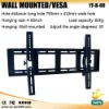"24~60"" DVD wall mounting , DVD bracketed (YF-B-60)"
